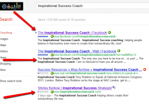 Inspirational Success Coach on Who Is Sandy Moore.com